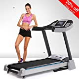 Hindom Folding Portable Electric Treadmill with APP Control, Motorized Power Health & Fitness Running Machine, 3 Types(US Stock)