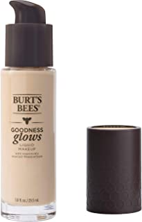 product image for Burt's Bees Goodness Glows Liquid Makeup, Porcelain - 1.0 Ounce