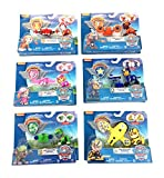 Nick Jr Paw Patrol Air Rescue Pack Pup Action Figure Bundle Set of 6. (works with Air Patroller) by Nickelodeon