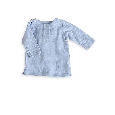 aden + anais Night Sky Blue Hauts de Pyjama 6-9 Mois