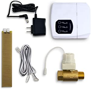 """LeakSmart Automatic Leak Detection and Water Shut Off Kits- Protect Your Home from High Leak Risk Appliances (1"""" Water Tank)"""