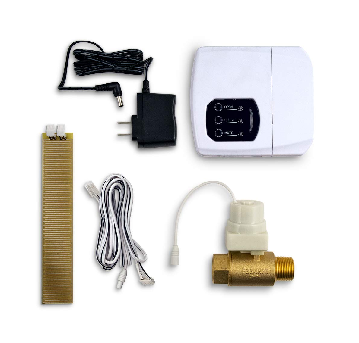 LeakSmart Automatic Leak Detection and Water Shut Off Kits- Protect Your Home from High Leak Risk Appliances (3/4'' Water Tank)