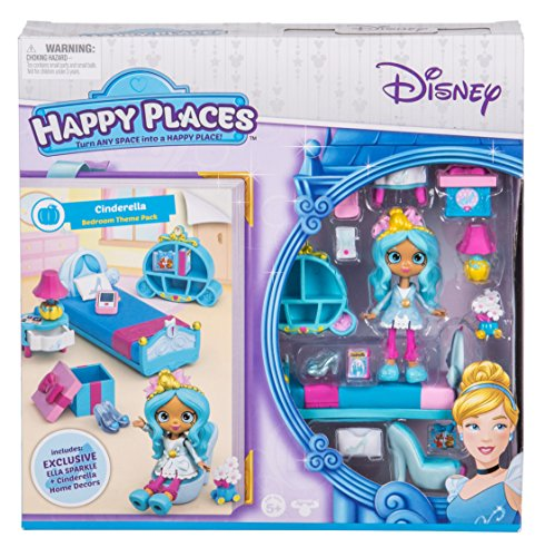 Happy Places Disney Season 1 Cinderella Bedroom Theme Pack
