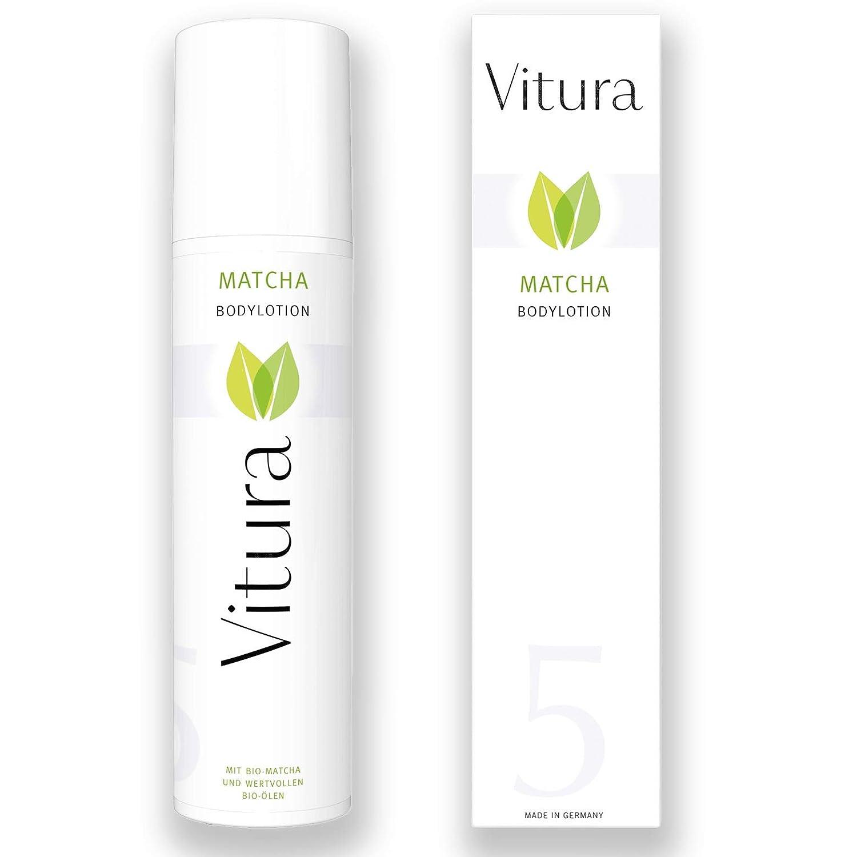 Matcha Bodylotion mit BIO Matcha, BIO Sheabutter und vielen hochwertigen BIO Pflegeölen - Vitura Naturkosmetik Matcha-Pflegeserie #5