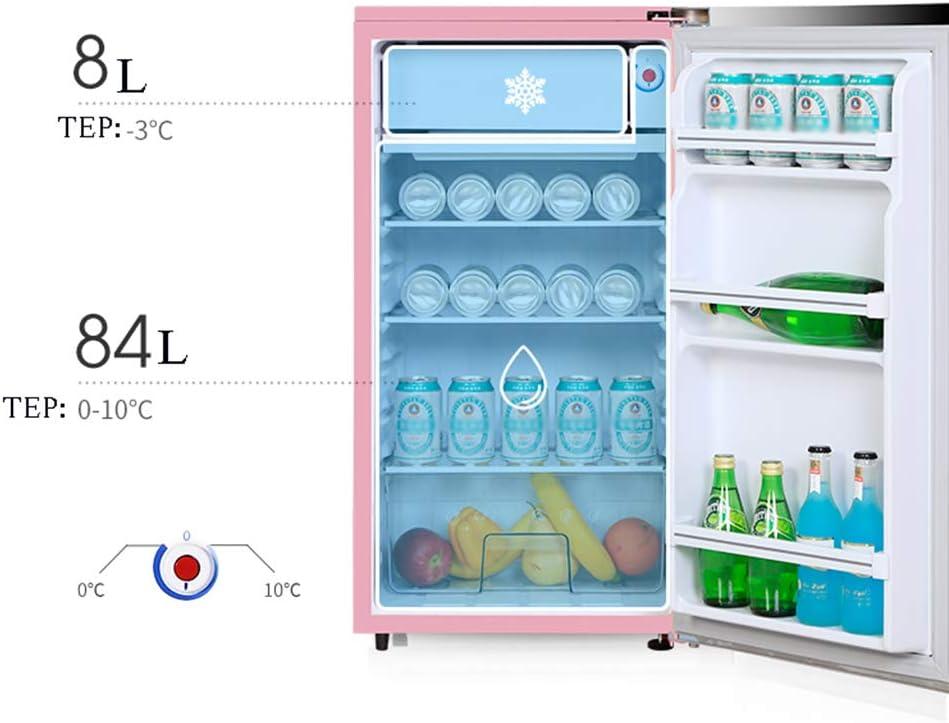refrigerador de una Puerta, congelador, 92L, hogar de Ahorro de ...