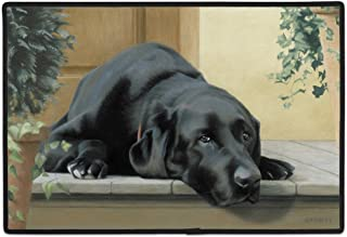product image for Black Lab Porch Doormat