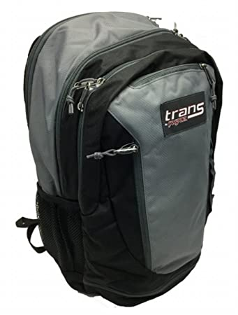 Amazon.com: Trans By Jansport Capacitor Backpack (BLK/GRY ...