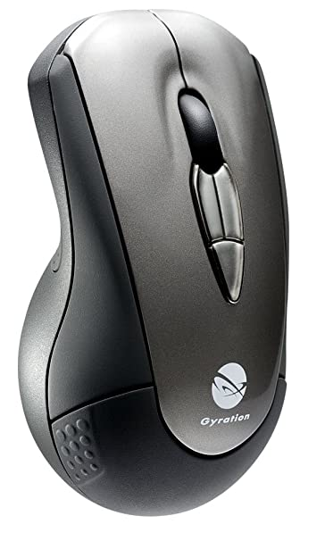 Gyration GYM2100NA - Ratón (RF inalámbrico, Laser, 2.4 GHz, 30 m, AAA, Windows XP/Vista/2000 Mac OS X 10.4 +): Amazon.es: Informática