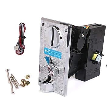 Ocamo Aceptador de Monedas Monedero Electrónico para Máquina expendedora: Amazon.es: Juguetes y juegos