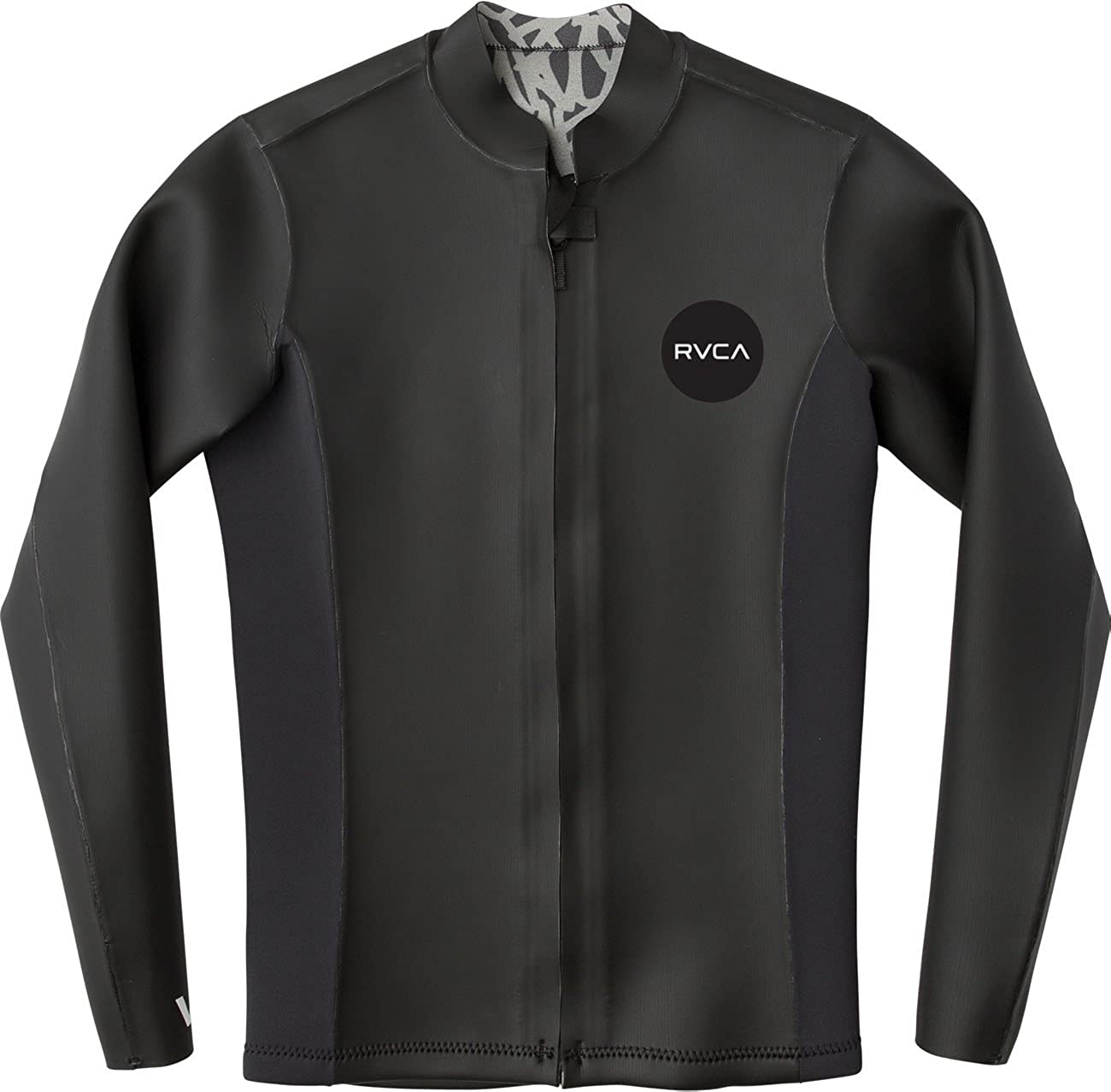 RVCA Mens Front Zip Smoothie Wetsuit Jacket
