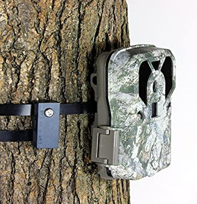 Trail Camera Lock by Guardian - Game Cam Tree Mount Holder Accessory and Heavy Duty Metal Security Locking Strap To Replace Lockbox and Reduce Theft