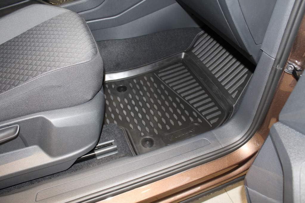 """Color Negro Ajuste Element EXP.ELEMENT5154210k Alfombrillas de Goma Antideslizantes para VW Tiguan MK2 5 Puertas Corta carrocer/ía /â/€/"""" a/ño 16 /â/€/"""" 20"""