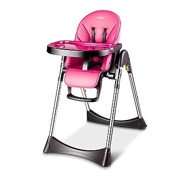 HGNbb La Silla Alta Plegable del bebé de múltiples Funciones ...