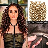 100% Remy Premium Curly Tape In Human Hair Extensions 22″ by Perfect Locks | Golden Brown #6, 25g/10 pieces per pack Review