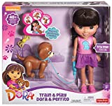 Fisher-Price Nickelodeon Dora and Friends Train and Play Dora and Perrito
