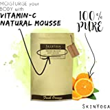 Skinyoga 100% Natural Skincare For Body Whitening Skinyoga Fresh Orange Body Scrub - Best Luxury Beauty Product With Pure Ingredients - 100% Vegan, Vegetarian, Halal Cosmetic -Full Size 200Gms