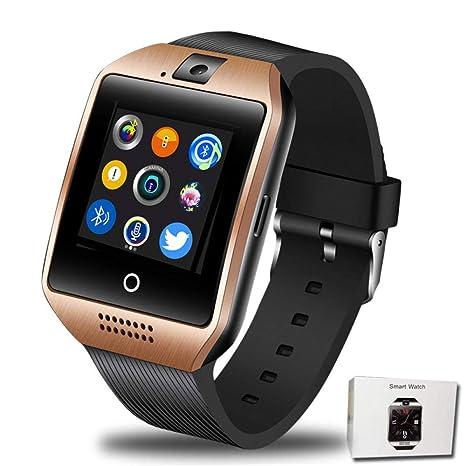 STCMW Reloj Inteligente Bluetooth para Hombres con Pantalla táctil ...