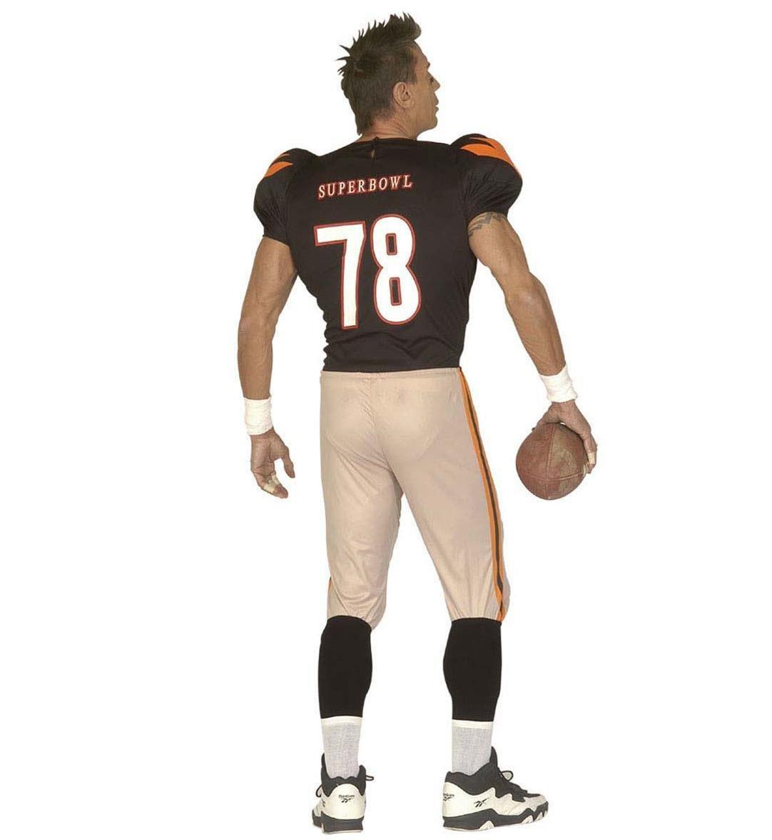 WIDMANN Jugador de fútbol americano - Adulto Disfraz - Grande: Amazon.es: Juguetes y juegos