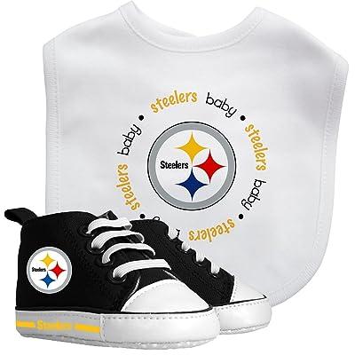 Baby Fanatic Bib and Prewalker Set, Pittsburgh Steelers : Baby