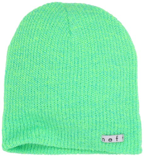 neff cyan verde Gorro Beanie Heather Para De Hombre Daily Esquí tennis 1wqRxgn1r