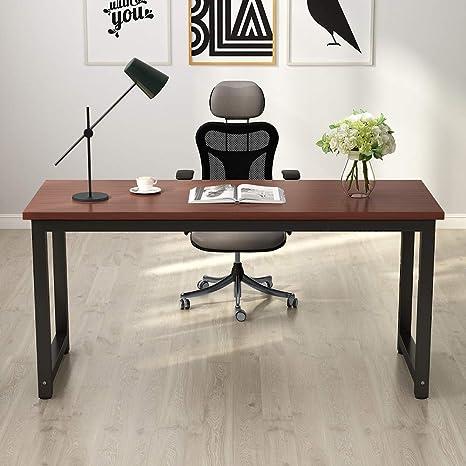 Amazon.com: Tribesigns - Mesa de trabajo para ordenador ...