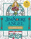Jim Shore Angel Coloring Book: 50+ Glorious Folk Art Angel Designs for Inspirational Coloring