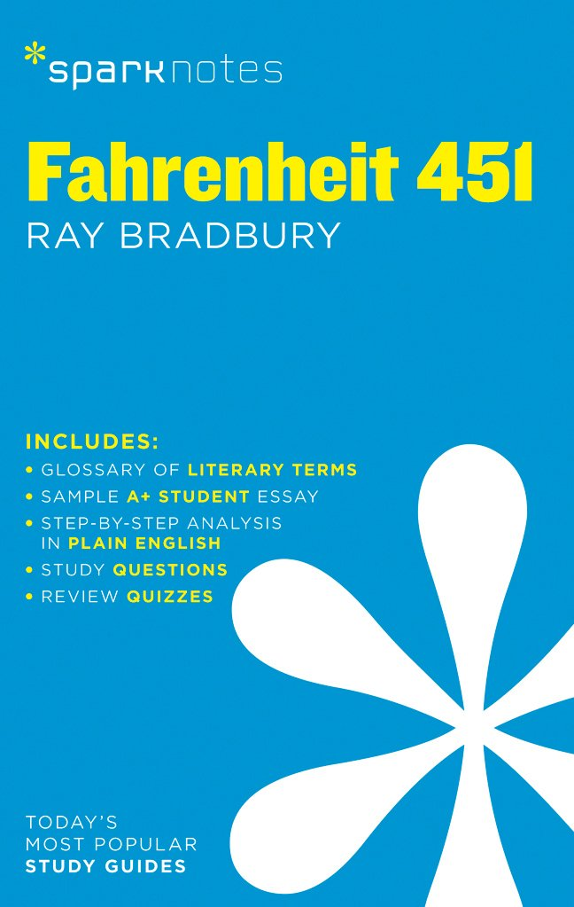 Fahrenheit 451 SparkNotes Literature Guide product image