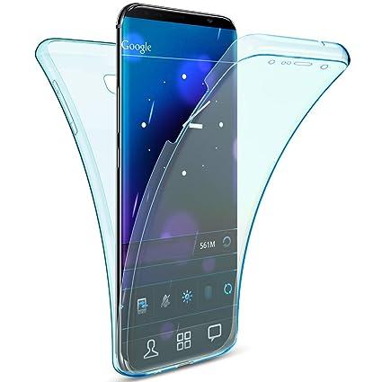 Uposao Funda Huawei P20 Pro Carcasa 360 Grados Integral Full Body Doble Delantera+Trasera Completa Funda Transparente Silicona Crystal Clear Ultra ...