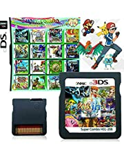 $29 » 208 in 1 Game Cartridge, DS Game Pack Card Compilations, Super Combo Multicart for Nintendo DS, NDSL, NDSi, NDSi LL/XL, 3DS, 3DSLL/XL, New 3DS, New 3DS LL/XL, 2DS, New 2DS LL/XL