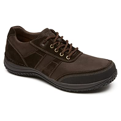 Rockport Men's Walk360 Walking Mudguard Oxford Brown ...