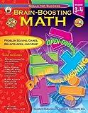 Brain-Boosting Math, Grades 3 - 4, Jillayne Prince Wallaker, 0887249337