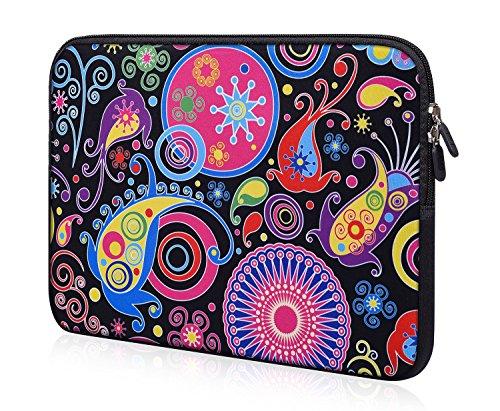 Laptop Bag Sleeve Neoprene Case 11/11.6/12/12.2 inch for HP Chromebook 11 /HP Envy X360 11.6/Dell chromebook 11 3180 3189/Acer Lenovo Toshiba Samsung Chromebook/Notebook Protective Tablet Bag