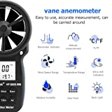 HoldPeak Digital Anemometer Humidity Portable