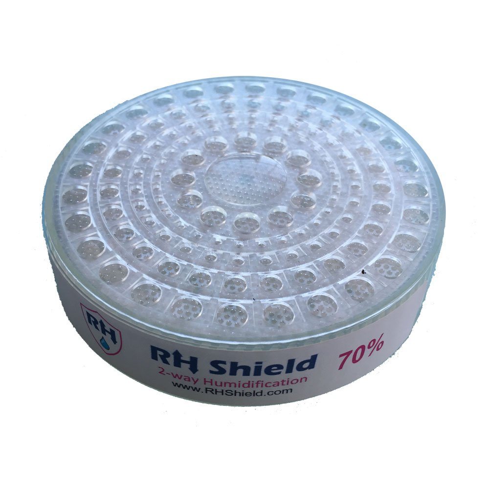 RHShield Cigar Humidity Beads 65% RH Round Humidifier for 150 Cigars