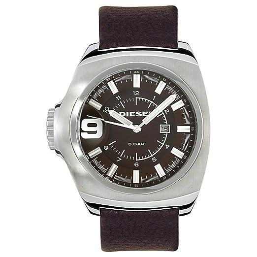 Diesel DZ1234 - Reloj para Hombres, Correa de Cuero Color marrón: Amazon.es: Relojes