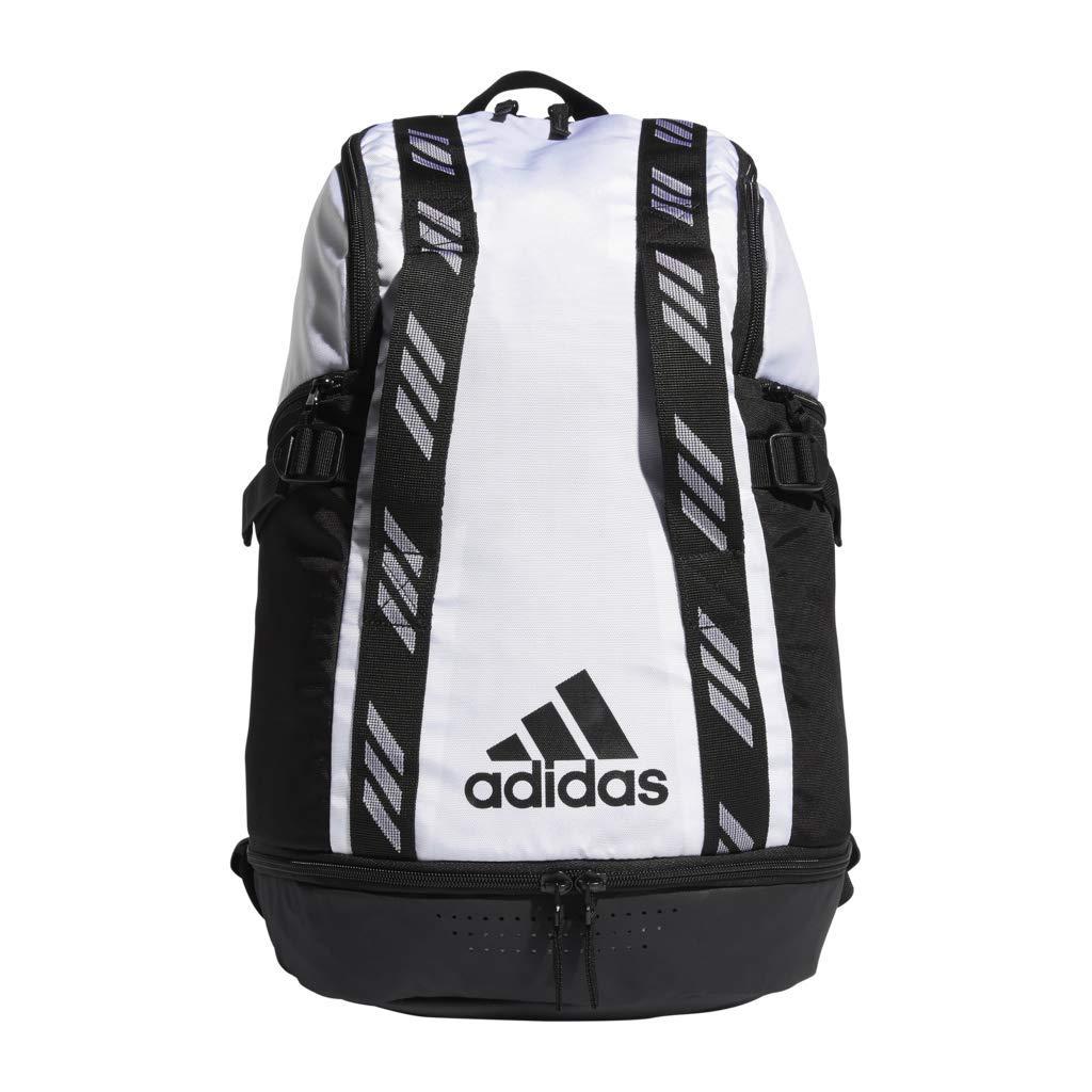 adidas Creator 365 Basketball Backpack White/Black, One Size