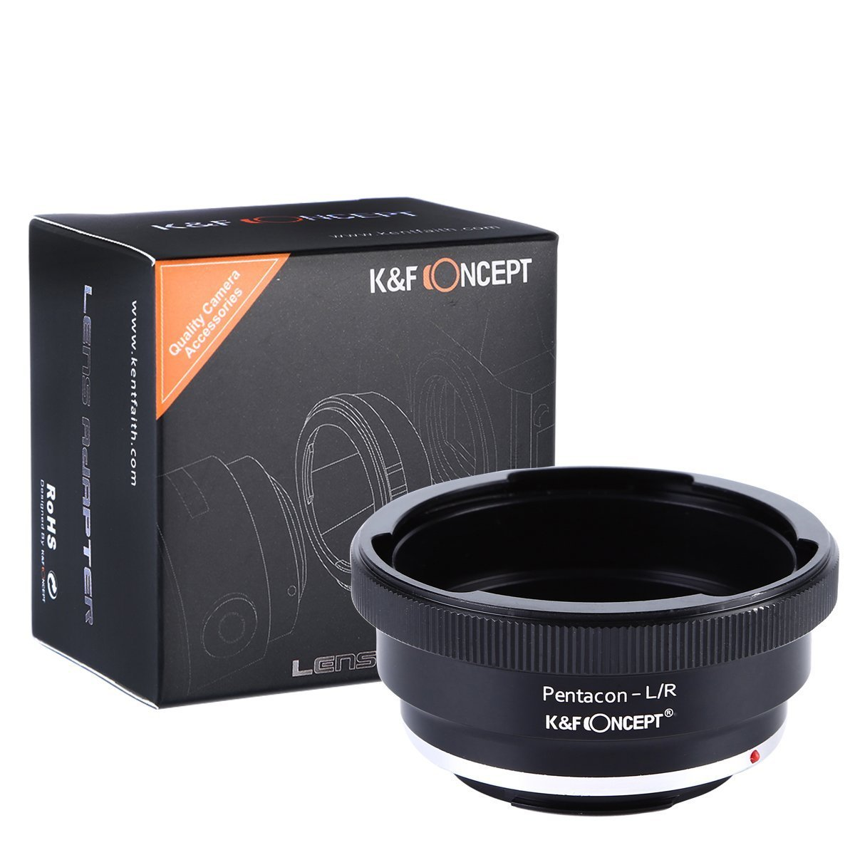 K&F Concept Pentacon 6 Kiev 60 Lens to Leica R Camera Body