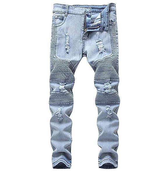 Amazon.com: DEITP Pantalones vaqueros ajustados para niño ...