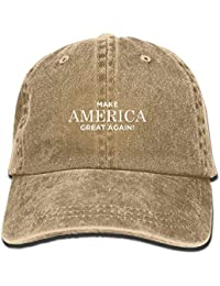 Make America Great Again Vintage Adjustable Cowboy Hat Leisure Hats Forman and Woman