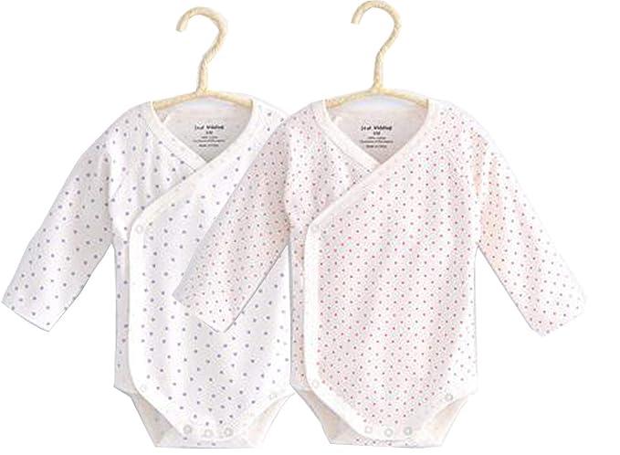 Amazon.com: Bebé Niños Niñas Mangas Largas Kimono Onesies ...
