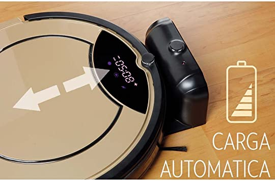 Robot Aspirador Inteligente Cleaner Golden: Amazon.es: Hogar