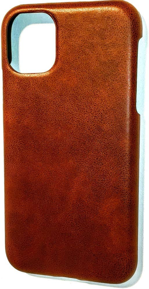 Vintage Brown 2019 Leather Case for New iPhone 11// iPhone 11 Pro//iPhone 11 Pro Max Slim Quality PU Leather Soft Grip Case with Strong Durable TPU Protection Interior.