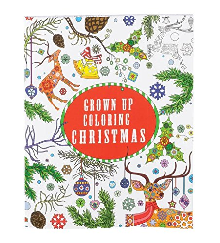 Grown Up Holiday Coloring Book