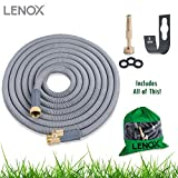 Expandable Hose 50' NEW 2017 Model, Solid Brass ON/OFF Valve Connectors ...