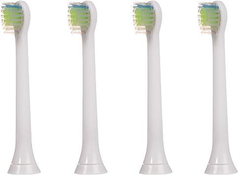 4 uds (1x4) de cabezales de recambio para cepillos de dientes E-Cron. Totalmente compatibles Cabezales Repuestos con Philips Sonicare Diamond Clean Mini y ProResult.: Amazon.es: Salud y cuidado personal