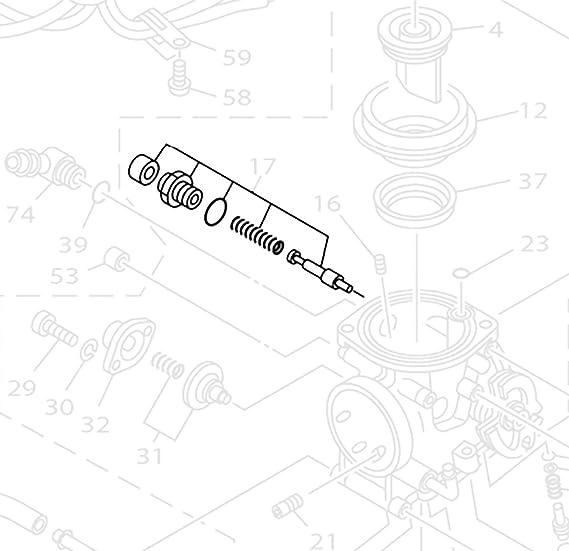 Amazon Com Carburetor Choke Rebuild Kit