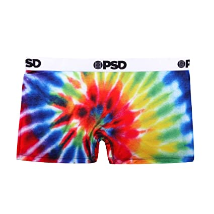 9b5e6f90c76e8 Amazon.com  PSD Underwear Women s Tie Dye Short  Sports   Outdoors