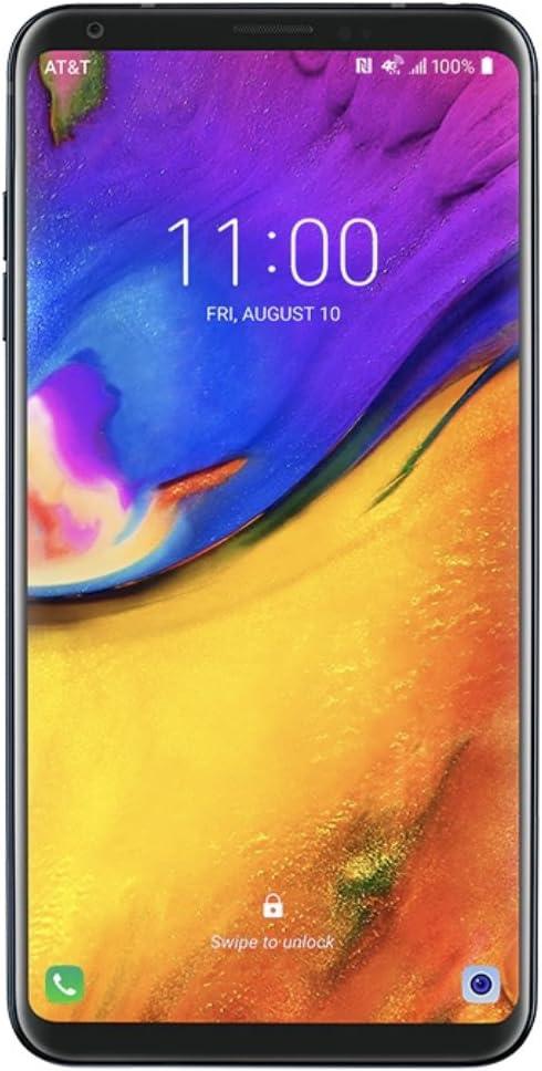 LG V35 ThinQ 64GB AT&T GSM Unlocked - Aurora Black (Renewed)