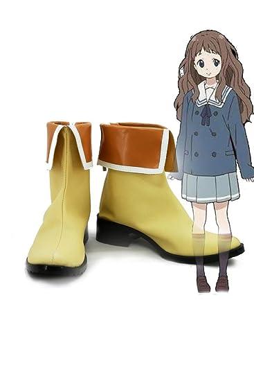 Beyond the Boundary Shindou Ai Cosplay Shoes Boots Custom Made