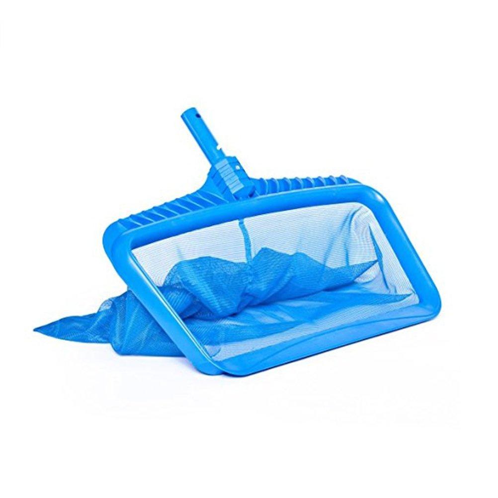 UEETEK Professional Heavy Duty Deep-bag Pool Rake with Frame Swimming Pool Leaf Net,50.5 40.5 2cm by UEETEK